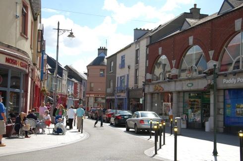 Centro da cidade de Wexford, Irlanda (foto: Marcelo Lima Costa)
