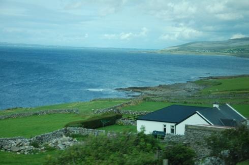 Costa Leste da Irlanda (foto: Marcelo Lima Costa)