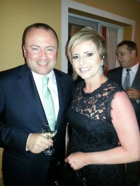 S.E. Brian Glynn, Embaixador da Irlanda no Brasil